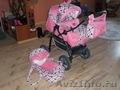 продаю коляску трансформер.цвет розовый